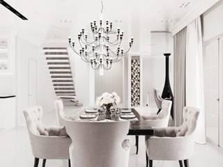 Ruang Makan Klasik Oleh Дизайн Студия Katushhha Klasik