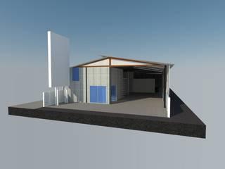 3D Design Gudang Parung Panjang :  oleh Tatami design,