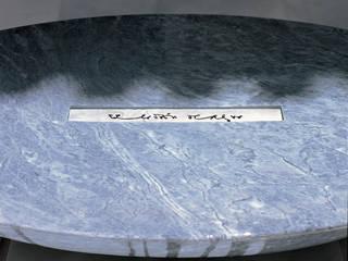 Fuente y vestíbulo Hotel Ladrón del Agua de Waterscales Minimalista