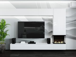 Living room by Дизайн Студия Katushhha, Minimalist