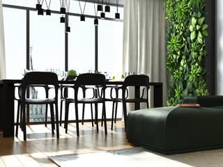 Ruang Makan Gaya Industrial Oleh Дизайн Студия Katushhha Industrial