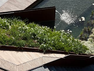 Jardin del Forum Jardines de estilo moderno de Waterscales Moderno