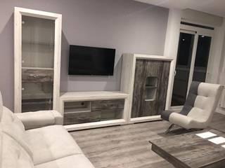 Piso completo: Salones de estilo  de muebles yaiza