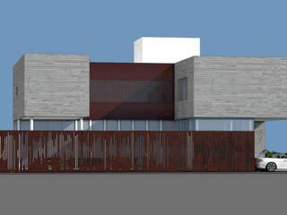 Fachada Lateral de ARC Arquitectos S.A. de C.V.