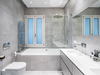 Baños de estilo  por AGi architects