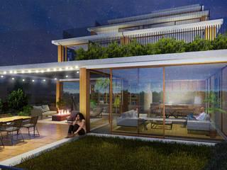 Terrasse de style  par jvantspijker & partners