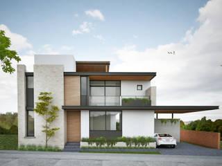 CASA S.F de JEP arquitectos Moderno