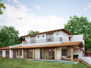 CASA Q.B. Casas mediterráneas de JEP arquitectos Mediterráneo