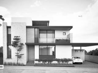 CASA S.F Casas modernas de JEP arquitectos Moderno