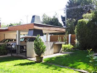 Cobertizos de estilo  por m2 estudio arquitectos - Santiago, Minimalista
