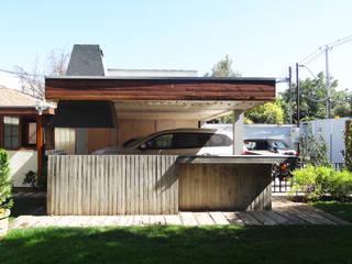 m2 estudio arquitectos - Santiago Mediterrane Häuser