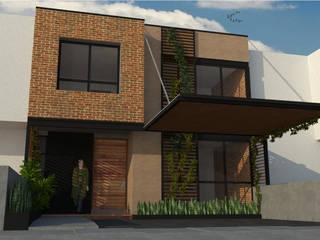 Casa AG-1 Casas industriales de Ipsum Nova Industrial