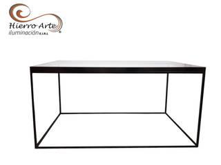 Mesas auxiliares :  de estilo  por Hierro Arte Iluminación EIRL