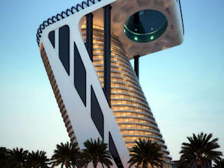 Z Tower in Dubai – Architectural design - S3DA Design:  Hotels by S3DA Design, Modern