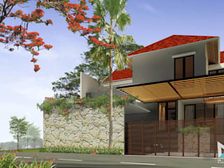 Tropical style houses by midun and partners architect Tropical