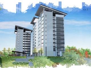 DEPARTAMENTOS JT Casas modernas de JEP arquitectos Moderno