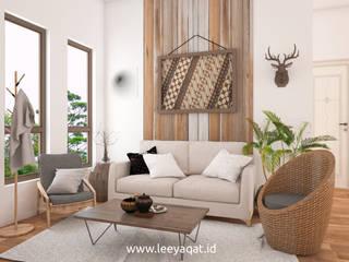 Desain Interior Bohemian:  Ruang Keluarga by PT. Leeyaqat Karya Pratama