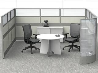 Mobiliario para Oficina Línea Italia Estudios y despachos modernos de GREAT+MINI Moderno