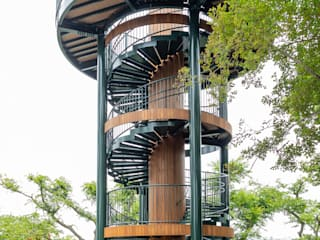 螺旋タワーの製作: LobeSquareが手掛けたイベント会場です。,