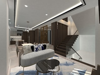 DK Residence Ruang Keluarga Modern Oleh M I D S T Interiors Modern