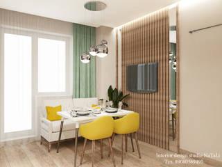 Дизайн интерьера в ЖК Ньютон : Кухни в . Автор – Interior design studio NaTaLi ( Студия дизайна интерьера Натали)
