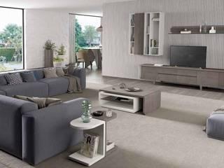Decordesign Interiores SalasAccesorios y decoración Aglomerado Blanco