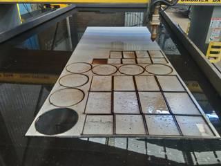 Pantografo CNC de Plasma de Transformaciones Metalicas y Manufacturas A y S, S.de R. L. de C. V. Industrial
