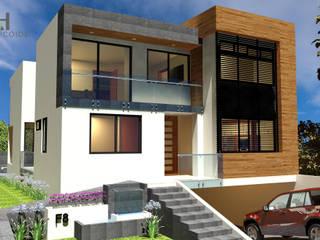 Casa en Zapopan de Helicoide Estudio de Arquitectura Moderno