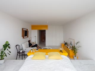 Corpo Atelier Kamar Tidur Minimalis MDF Yellow