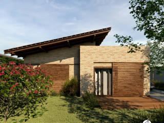 Casa Santo Amaro: Casas familiares  por Referência Arquitetura