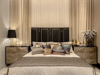 Eclectic style bedroom by Spengler Decor Eclectic