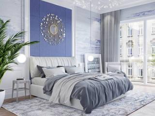Przytulna elegancka sypialnia: styl , w kategorii Sypialnia zaprojektowany przez Elegance of Tailors,