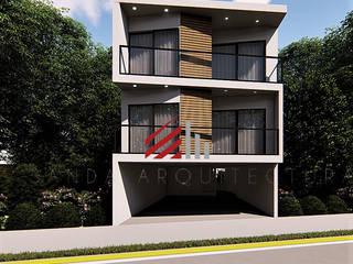 DEPARTAMENTOS BE-KA Casas modernas de S A N D A ARQUITECTOS Moderno