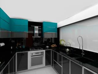 : Cocinas equipadas de estilo  por GA Experimental