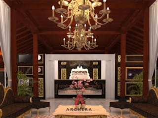 Interior Hotel Manohara Hotel Gaya Mediteran Oleh CV. ARCHIRA Mediteran
