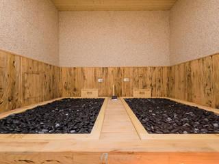 湯の花 -岩盤浴:  商業空間 by 元作空間設計