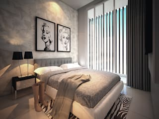 Modern style bedroom by midun and partners architect Modern