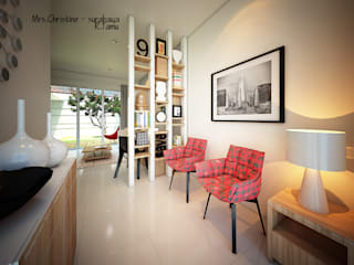 Modern living room by midun and partners architect Modern