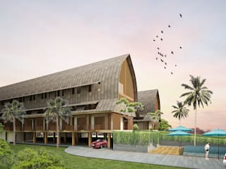 Tropical style hotels by midun and partners architect Tropical