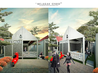 BELAGAK CINDO HOUSE:  Rumah by midun and partners architect