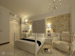 臥室:  臥室 by 元作空間設計