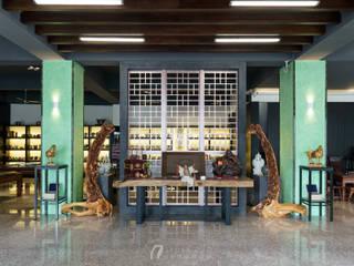 京峰富茶倉 根據 元作空間設計 日式風、東方風
