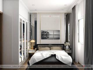 Thiết kế thi công nội thất chung cư Vinhome D'Capitable Trần Duy Hưng: hiện đại  by Công ty cổ phần kiến trúc nội thất Home&Home, Hiện đại