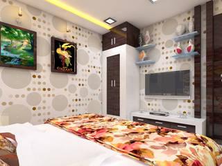 Luxurious Mini Farm House Modern style bedroom by Bhuvith Creations Modern