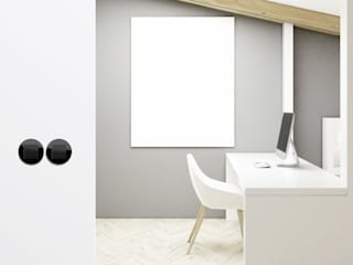 Salas de estar modernas por Gira, Giersiepen GmbH & Co. KG Moderno