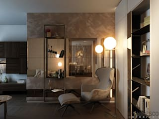 Modern living room by FRANCESCO CARDANO Interior designer Modern