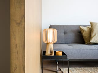 :  Living room by Deirdre Renniers Interior Design,Minimalist