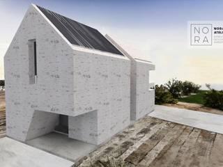 Minimalist houses by Nora Atelier Minimalist