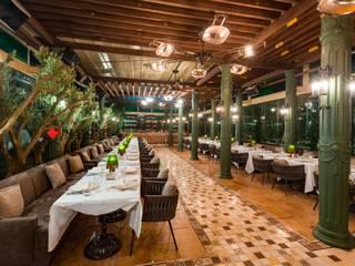 DESTONE YAPI MALZEMELERİ SAN. TİC. LTD. ŞTİ. Bar & Club in stile scandinavo Marmo