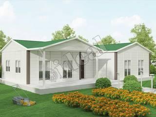 Prefabrik Ev 123 m² İdeal Ev (Prefabrik Evim) Modern